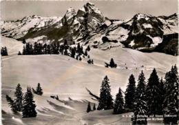 N.S.K.Z. Skihaus Auf Stoos (Schwyz) Gegen Die Mythen (20249) * 14. 2. 1947 - SZ Schwyz