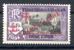 RC 17335 INDE FRANÇAISE COTE 12€ N° 207 SURCHARGE FRANCE LIBRE NEUF ** TB MNH VF ( VOIR DESCRIPTION ) - Unused Stamps