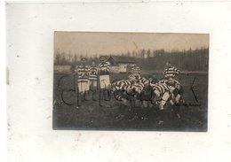 Clermont (60) : GP D'une Mêlée De L'équipe De Rugby Au Stade Clermontois En 1913 (animé) PF CP PHOTO RARE. - Clermont