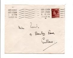 GB LETTRE DE NORTH BERWICK 1936 - 1902-1951 (Könige)