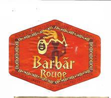 ETIQUETTE BIERE BARBAR - Beer