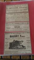 Lot Vieux Papiers 1894 Aube - Publicités