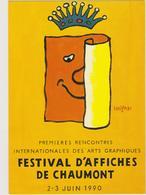 SAVIGNAC  - Festival Affiches Chaumont -  CPM  10,5x15  TBE 1990 Neuve - Savignac