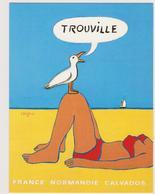 SAVIGNAC  - Publicité Trouville Normandie Mouette -  CPM  10,5x15  TBE 1987 Neuve - Savignac
