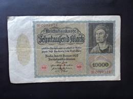 ALLEMAGNE : 10 000 MARK   19.1.1922    P 71    Presque TTB - 10000 Mark
