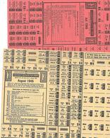 Tickets De Rationnement,Suisse,Bern - Autres Collections