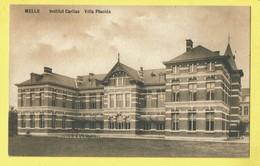 * Melle (Oost Vlaanderen) * (Epouse Vanden Berghe) Institut Caritas, Villa Placida, Façade, Old CPA, Rare - Melle