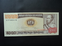 BOLIVIE : 5000 PESOS    10.2.1984    P 168a    Presque SPL * - Bolivien