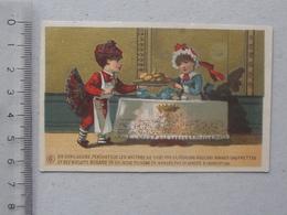 NANTES (Ville-en-Bois) CHROMO Biscuits BUGARD: Servante Cuisinier Gaufrette Gourmandise - Confiserie & Biscuits