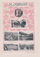 Le Roussillon /  Tiré à Part Sur Airs Populaires, Chansons & Musique Du Roussillon - Corse