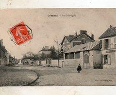 Crones -   Rue  Principale. - Crosnes (Crosne)