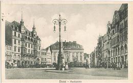 Feldpost-AK Bonn, Marktplatz 1918 - Bonn