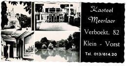 Klein-Vorst - Kasteel Meerlaer - Publikaartje - Laakdal