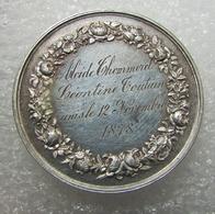 Piece D'union Mariage En Argent - Thommerel Et Toutain Unis Le 12 Novembre 1878 - - France