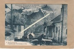 Dept 05 : ( Hautes Alpes ) Dauphiné, Environ De La Grave, Le Meije, Eglise Des Terrasses. - Autres Communes