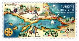 TURKEY / 2020 - EUROPA CEPT (Historical Postal Roads), MNH - Nuevos