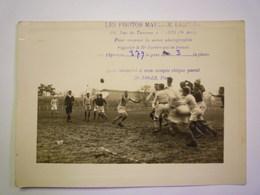 2020 - 5503  RUGBY  :  Un Match De RUGBY Dans La Région Parisienne  (Photo Maurice LEMESLE)  N° 379 - Rugby