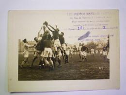 2020 - 5505  RUGBY  :  Un Match De RUGBY Dans La Région Parisienne  (Photo Maurice LEMESLE)  N° 381 - Rugby