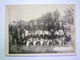2020 - 5506  RUGBY  :  Photo D'une équipe De RUGBY à Identifier  (format 17,5 X 12,5 Cm)   XXX - Rugby