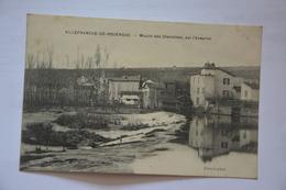 VILLEFRANCHE-de-ROUERGUE-moulin Des Chanoines Sur L'aveyron - Villefranche De Rouergue