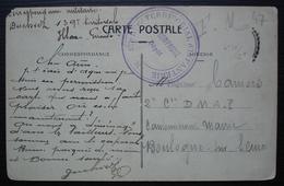 139e Régiment Territorial D 'infanterie, Carte D'Agen Pour Boulogne Sur Seine - Marcofilie (Brieven)