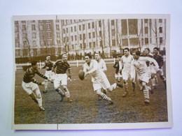 2020 - 5508  RUGBY  :  Stade Jean BOUIN  -  Match C.A.S.G.  /  P.U.C.   16 - 1 - 1938   (format 18 X 13 Cm)  XXX - Rugby