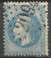 France - Napoleon III Et/ou Cérès - Oblitération Sur N°29B - GC 2094 LOUDUN (Vienne) - 1849-1876: Classic Period