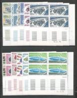 MONACO ANNEE 1975 N°1018 à 1028 COINS DATES NEUFS** MNH - Ongebruikt