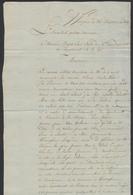 """Précurseur - LAC Datée De Waereghem (25 Messidor An Ier çàd 13/7/1793) + Cachet Noir """"Mairie De Waereghem"""" - 1794-1814 (French Period)"""