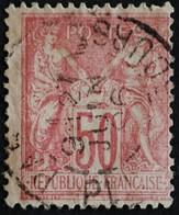 -Sage N°98  Type Ll.(CAD) O.PARIS PL DE LA BOURSE..21 JUIN 1896. - 1876-1898 Sage (Type II)