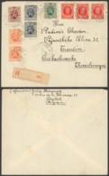 Belgique 1930 - Recommandé Roeselare Vers Tchécoslovaquie - 1932 Ceres Y Mercurio