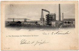 CETTE (SETE) Vue Panoramique Des Etablissements Du Creusot   (780 ASO) - Sete (Cette)