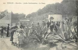 CPA 83 Var Toulon Mourillon Jardin D'Acclimation Le Tennis - Toulon