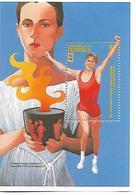 DOMINIQUE  BLOCS FEUILLETS JEUX OLYMPIQUES D ' ATLANTA 1996 - Estate 1996: Atlanta
