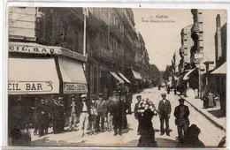 CETTE (SETE) Rue Alsace Lorraine - Bar - Tabacs   (783 ASO) - Sete (Cette)
