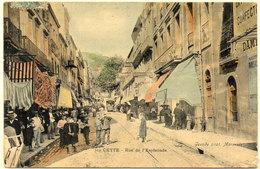 CETTE (SETE) Rue De L' Esplanade  (784 ASO) - Sete (Cette)