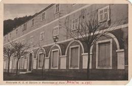 RISTORANTE N. S. DI SOVIORE PRIMO PIANO D'EPOCA ANNO 1935 FORMATO PICCOLO - La Spezia