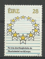Ireland 1989 3rd European Election Y.T. 684 ** - Nuovi