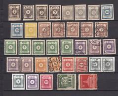 Ost-Sachsen - 1945/46 - Sammlung - Ungebr./Postfrisch/Gest. - Zone Soviétique