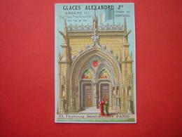 CHROMO / IMAGE  GLACE ALEXANDRE JEUNE  EMAUX & ORFEVRERIE 93 Fb SAINT ANTOINE PARIS PORTUGAL EXPOSITION UNIVERSELLE 1878 - Other