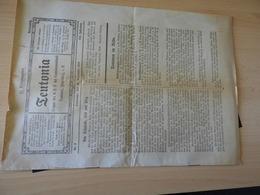 Zeitschrift.TEUTONIA Studentenzeitung Heidelberg 1916 - Magazines & Newspapers