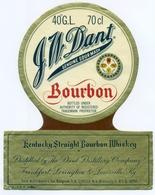 Oud Etiket / Ancienne étiquette Whisky G.W. Dant - Whisky