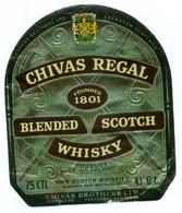 Oud Etiket / Ancienne étiquette Whisky Chivas Regal - Whisky