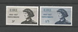 Ireland 1968 Markievicz Centenary Y.T. 209/210 ** - 1949-... Repubblica D'Irlanda