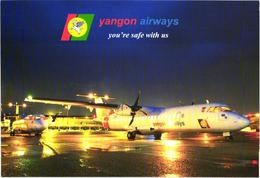 Yangon Airways Issue, Passenger Airplane - 1946-....: Ere Moderne