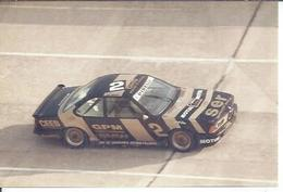 "PHOTO D'ARCHIVES : COURSE AUTOMOBILE - MONTLHERY 1986 -   "" BMW 635 M 1  "" Pilote:  BASSO - N° 2 - Montlhery"