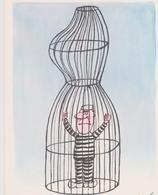 SINE  Ed NI N°229  - Homme Prisonnier Dans Une Cage En Forme De Corps De Femme  - CPM 10,5x15 TBE 1977 Neuve - Sine