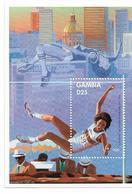 GAMBIE BLOCS FEUILLETS  JEUX OLYMPIQUES D ' ATLANTA 1996 - Estate 1996: Atlanta