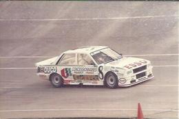 "PHOTO D'ARCHIVES : COURSE AUTOMOBILE - MONTLHERY 1986 -   "" PEUGEOT 505 TURBO  "" Pilote:  GABOUILLE - N° 8 - Montlhery"