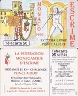 377/ Monaco; Escrime 1996 - Monace